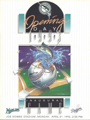 Marlins opening day 1993